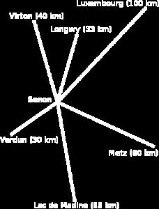 Carte de Senon